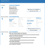 L02-Suite of Excel Tools, Loan Calculator Excel - Comparisons, Financial Planning, Funding your business, loan calculator, loan calculator excel