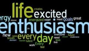 Enthusiasm vs Excitement