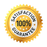 100 percent satisfaction guarantee